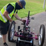 Volunteering with Cycle Maintenance